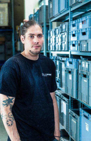 Delafair Mitarbeiter Sven Wustlich